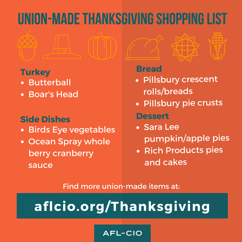 Union Made Thsanksgiving